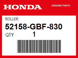 Honda 52158-GBF-830 ROLLER