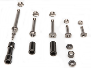 TITANIUM LEVERAGE BOLT KIT REM + DLC HONDA CRF 450 R 14-16